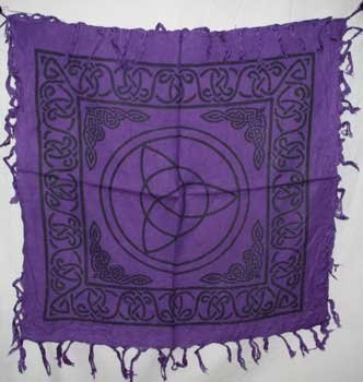 Triquetra Charmed Altar Cloth - 18
