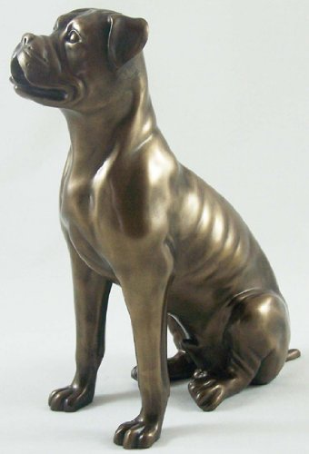 Dog Ornaments Bronze Sculpture Boxer Dog Statue Ornament