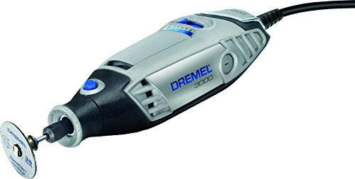 Dremel 3000-15 130-Watt Multi-Tool Kit (Multicolour, 19-Pieces)