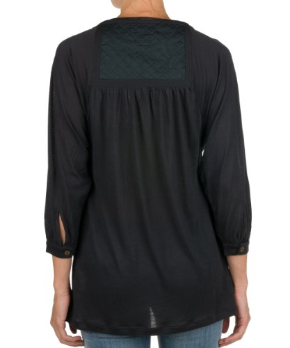 Replay- Blouse - Manches 3/4 - Femme Noir (228)