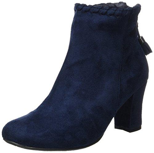 HIRSCHKOGEL Damen 3004542 Stiefel Blau (Dunkelblau 017) 41 EU