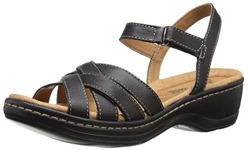 Clarks Hayla Pier Dress Sandal Black