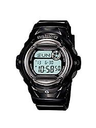 Casio Baby-g Digital Black Dial Womens Watch-BG-169R-1DR (BX085)