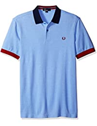 Fred Perry Men's Color Block Pique Shirt