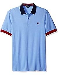 Fred Perry Bloc de couleur Pique Polo Shirt Fumée