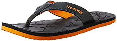Reebok Men's Gradient Flip II Gravel and Nacho Flip-Flops and House Slippers - 8 UK/India (42 EU) (9 US)