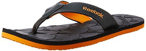 Reebok Men's Gradient Flip II Gravel and Nacho Flip-Flops and House Slippers – 8 UK/India (42 EU) (9 US) 41jlyy1cSsL