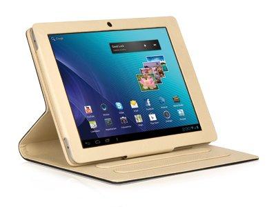 Tablet Cases (Abdeckung, Brown, Cream, Leatherette, Hamlet) ()