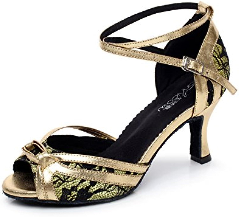 les chaussures de danse latino jChaussure  dentelle salsa salsa salsa / tango / thé / samba / modern / jazz chaussures sandales à talons, Or -heeled6cm-uk7...b078w7dmf6 parent | De Haute Qualité Et De Bas Frais Généraux  dcdeec