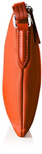 Lacoste Damen Nf1887po Umhängetaschen, 17.5 x 1 x 27 cm Rouge (Cherry Tomato)