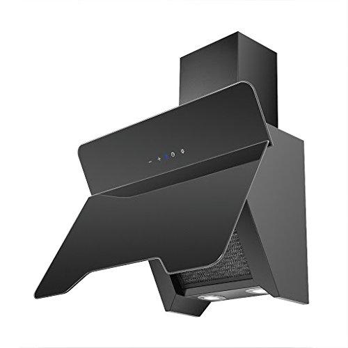URBAN - HOTTE DECORATIVE MURALE M403-90/N- 500m3/h - Classe D - Verre Noir