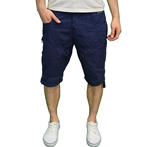 Crosshatch Herren Jeanshose blau blau one size Blau