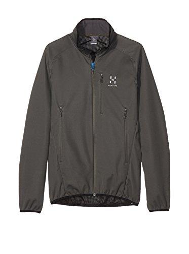 Haglöfs veste softshell pour homme f15 mistral veste pour homme beluga