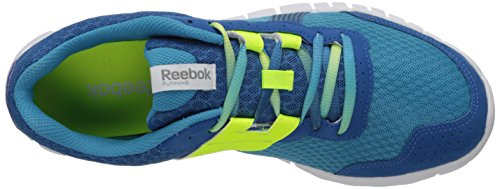 Reebok Z Fury Tempo Running Shoe Flight Blue/Persian Blue/Solar Yellow/Grey/White