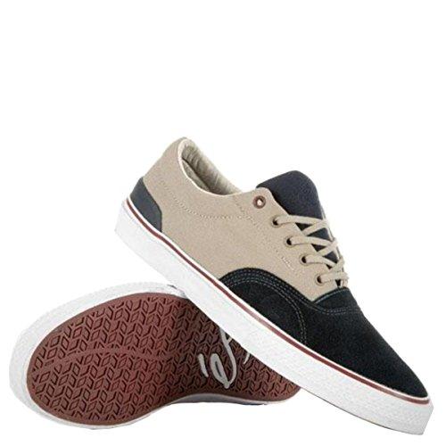 ES Footwear Skateboard Schuhe Manderson Navy/Grey, Schuhgrösse:42.5 (Herren Dekline Schuhe)