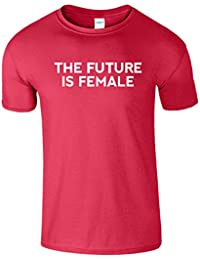 The Future is Female Mens Shirt manches courtes cadeau