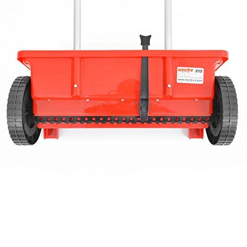 HECHT Universal-Streuwagen 212 Streumaschine Düngerstreuer Salzstreuer (mit ca. 12 Liter Fassungsvermögen);;;;; - 7