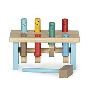 Betoys Jeu du marteau en bois pour enfant Marron - Alinea x12.0x25.0x1