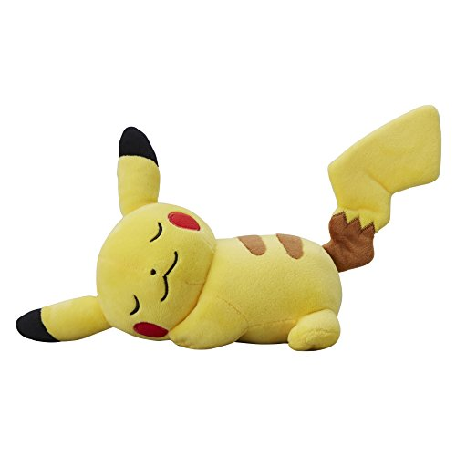 Pokemon-Center-Original-Plush-Doll-Sleep-Pikachu-Pokemon-Sun-Moon-Pokemon-Go