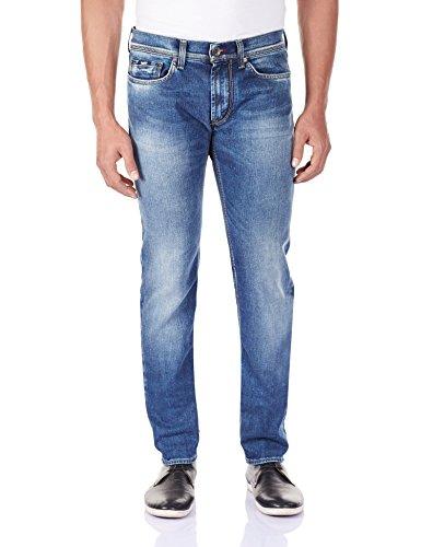 Gas - Jeans Anders K, Uomo, Blu (W179 W179), 28