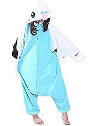 SAMGU Unisexe Animal Pyjamas Perroquet Une pièce Cosplay Costume