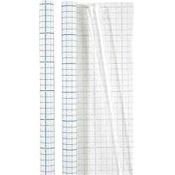 Brunnen 1040061, Pellicola di Protezione per Libri e Quaderni, Trasparente, 1 m x 0.45 m