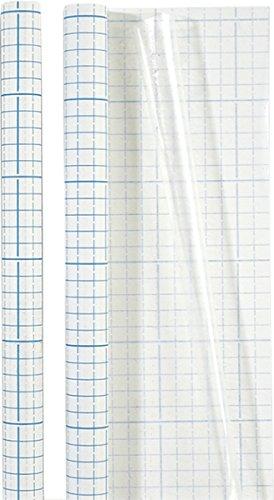 Brunnen 1040061, Rollo de Forro para Libros, Transparente, 1 m x 0.45 m