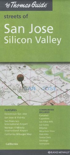 The Thomas Guide Streets of San Jose Silicon Valley (Silicon-valley-karte)