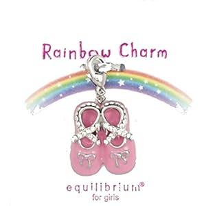 Equilibrium regenbogenfarbener, glänzender Anhänger für Mädchen