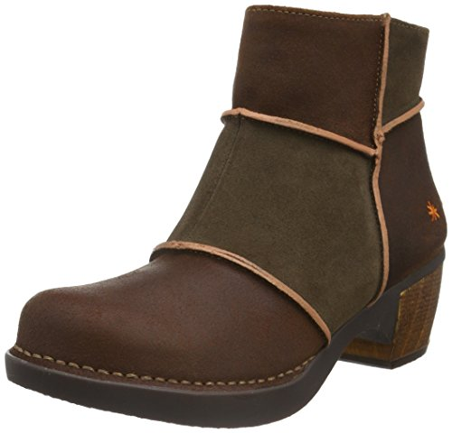 Art - ZUNDERT ANKLE BOOT, Stivali Donna Marrone (Braun (Adobe))