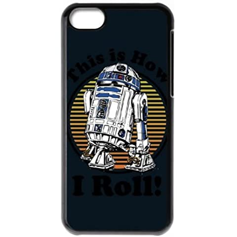 Star Wars How I Roll W2Nv25 cover iphone 5C Cell Phone Case Black rPDc7X Camo Phone Cases