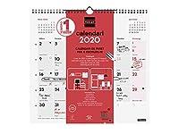 Finocam - Calendario de pared 2020 Escribir cat...