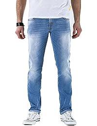 Meltin'Pot - Jeans MONTREAU D0120-UK482 para hombre, tiro caído, ajuste apretado, talle muy baja