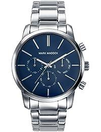 Mark Maddox HM0006-37 - Reloj de cuarzo para hombre, correa de metal color plateado
