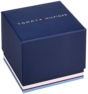 Tommy Hilfiger Reloj Multiesfera para Hombre de Cuarzo con Correa en Acero Inoxidable 1791469
