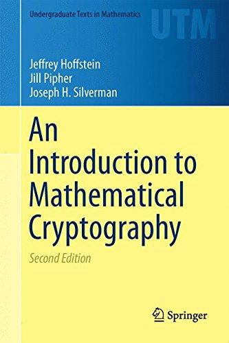 An Introduction to Mathematical Cryptography (Undergraduate Texts in Mathematics) por Jeffrey Hoffstein