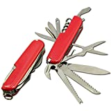 #8: Suplex36 6 in 1 Stainless Steel Multi Purpose Swiss Style Pocket Knife Tool