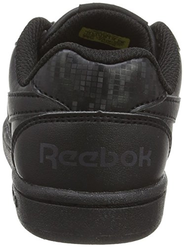 Reebok Jungen Royal Prime Low-Top Schwarz (Black/Ash Grey)