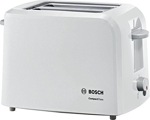 Bosch TAT3A011GB Village Collection Toaster, Two Slice – White