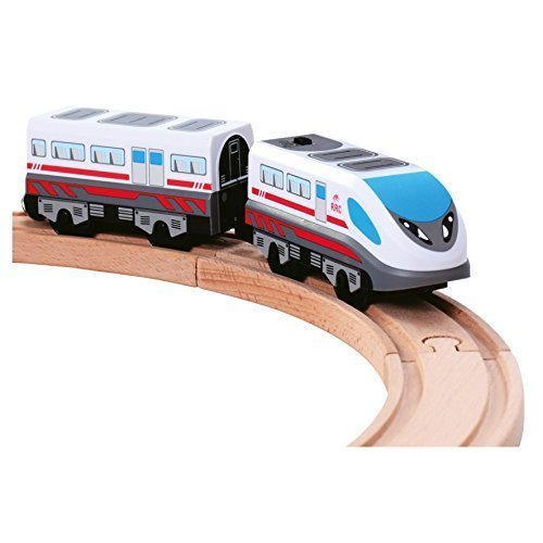 Bateriebetriebene Lokomotive, mit Endwagon