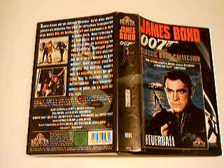 James Bond 007 Feuerball VHS