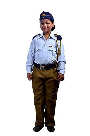 SBD Unisex Traffic police Dress (CKTFP2475_White_3-4 Years)