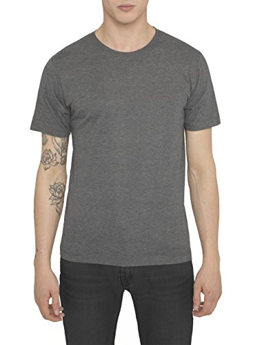 RADDAR7 Da Uomo Designer Casual Luxe Sport Marrone scuro Crew T-Shirt Cotone di Alta Qualità Slim Fit Maniche Corte Tops Da Uomo S