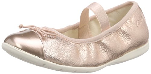 clarks-girls-dance-puff-inf-unlined-low-house-shoes-pink-size-125-child-uk