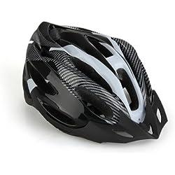 TOOGOO (R) Casco de Ciclismo Bicicleta Bici Proteccion Ajustable Blanco
