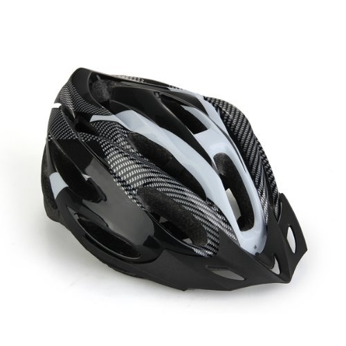 TOOGOO(R)Black Bicycle Helmet Mountain Bike Helmet for Men Women Youth NEW Test