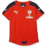 AFC Casuals prestazioni Tee PUMA Kinder T-shirt with Sponsor Logo, high risk Red-bambino, 140, 749777 18