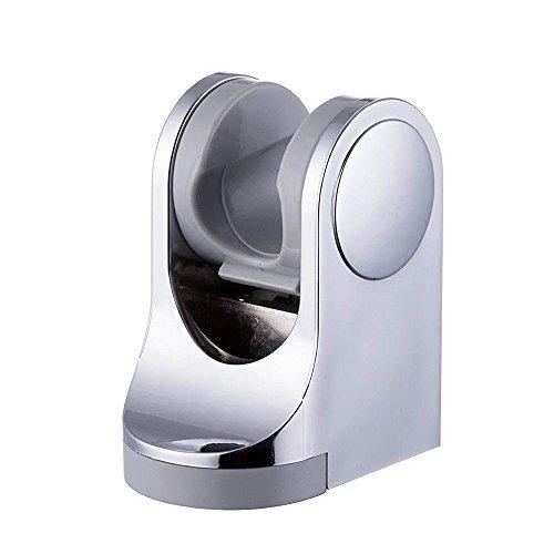 rsal minimalistisch Feste montiert Duschkopf Halter Badezimmer Verstellbare Wandhalterung Halterung Handheld Spray Duschkopf Duschen Zubehör Komponenten [Chrome Finish] (Angel Halloween-episode)