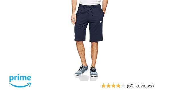 133133cd74e43a Nike Men s Nsw Jersey Club Short Obsidian White