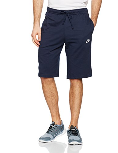 NIKE Herren Nsw Jsy Club Trainingsshorts - Blau (squadron blue / white) , S